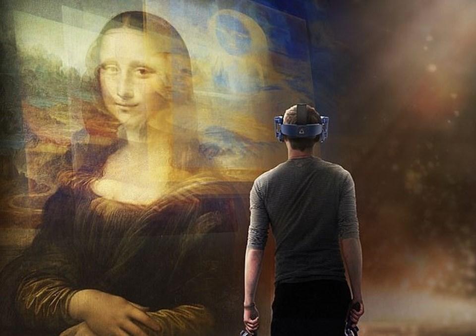 Louvre Müzesi'nin ilk sanal gerçeklik deneyimi olacak olan Leonardo da Vinci sergisi, sanal gerçeklikte Mona Lisa'ya ev sahipliği yapacak.