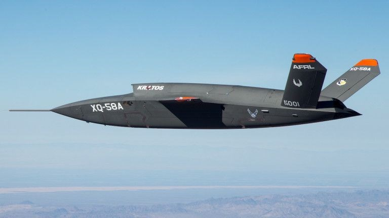ABD SAVAŞ DRONE'UNU GÖRÜCÜYE ÇIKARDI