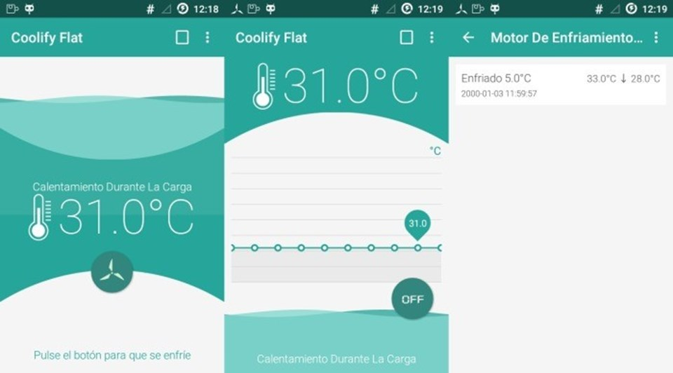 Coolify sayesinde kullanıcılar akıllı cihazlarının ısısını belirleyebiliyor.