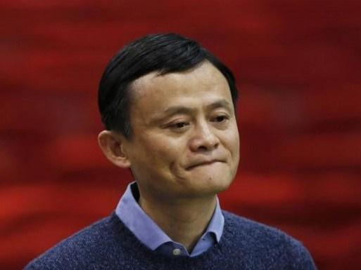 Alibaba'nın başkanı ve kurucusu Jack Ma.