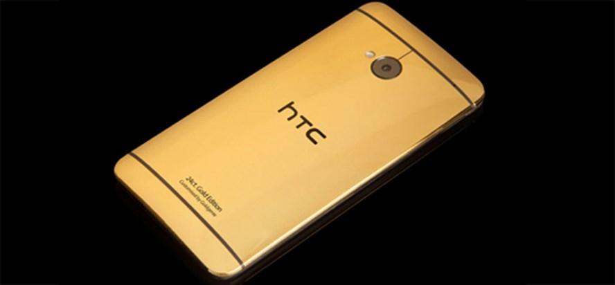 Altın ve platin kaplama HTC One
