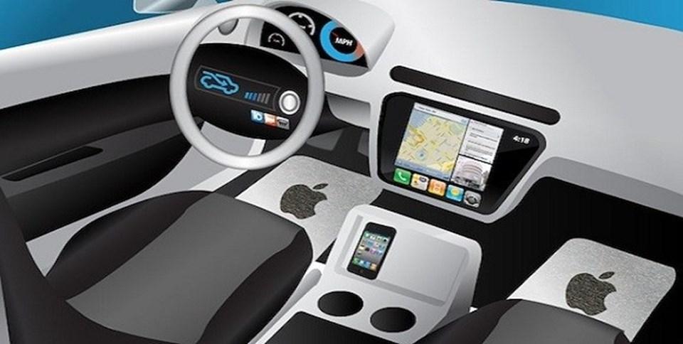 Apple'ın elektrikli aracının çizimleri olduğu iddia edilen bu resimdışında, projeye ait bir detay bulunmuyor.