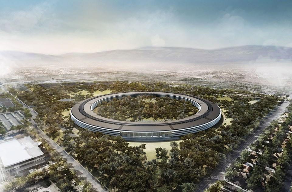 Bin kişiye ev sahipli yapan yer altı salonunda Apple'ın iPhone 8 ve iPhone X isimli modelinin tanıtılması bekleniyor