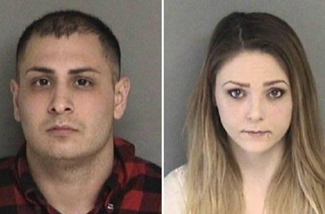 Gasp olayının polise yansımasının ardındanAlexander Nejat ve Katherine Stump (sağda) gözaltına alındı.