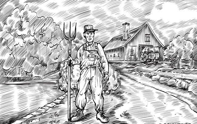 1. Çiftçinin karısı nerede?