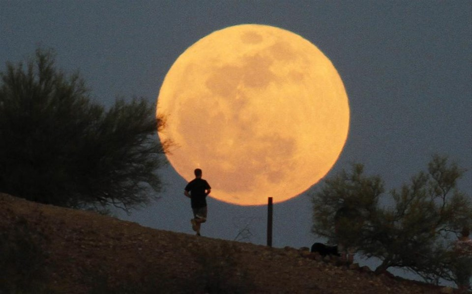 Ay bu gece 'Süper' olacak
