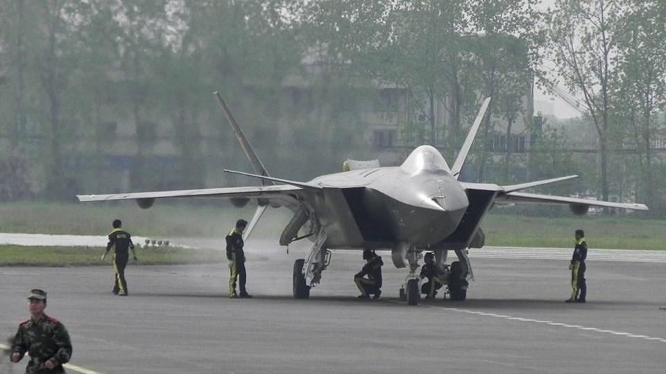 ÇİN'DEN 'HAYALET UÇAK' İLE GÖZDAĞI (F-35'E KARŞI GELİŞTİRİLDİ)