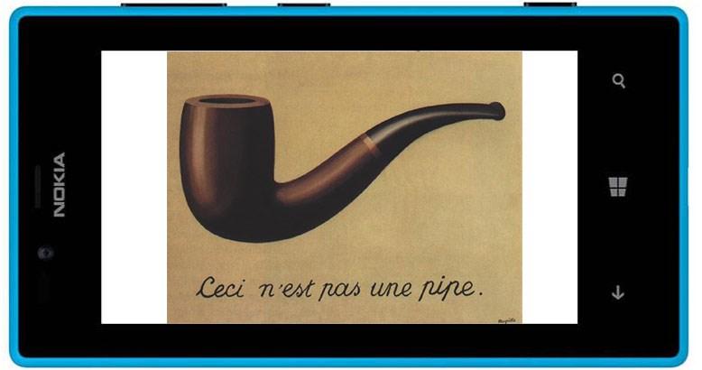 René Magritte 'La trahison des images'