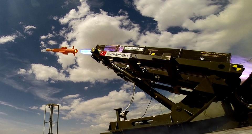 Türkiye'nin silahları, türkiye nin silah gücü, hisar füzeleri