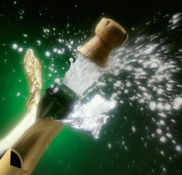 Şampanyayı köpürten şey nedir?