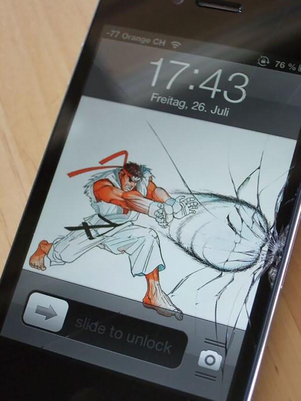 Ekranı çatlayan Telefonlar Için Ilginç çözüm 1 Ntv