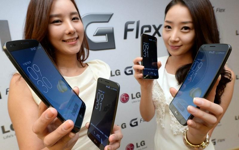 17. LG G Flex