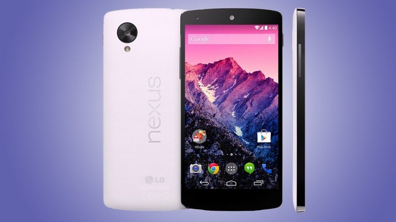 5. Google Nexus 5
