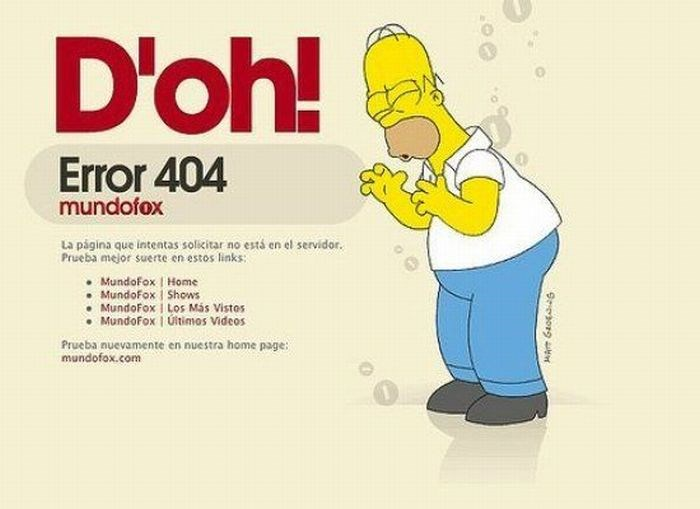 En iyi 404 hata sayfaları