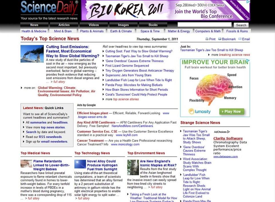 En iyi 50 web sitesi