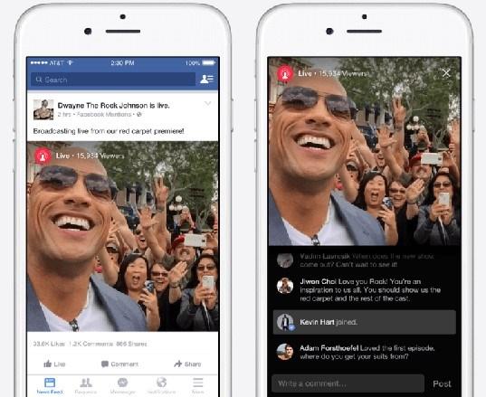 Yeni özellik sayesinde ilk etapta sadece Facebook'un belirlediği ünlü isimler canlı yayın yapabilecek, Facebook kullanıcıları da bu yayınlara yorumları ile dahil olabilecek.