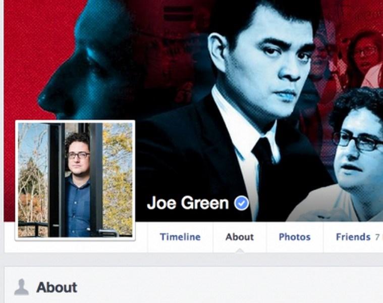 20. Joe Green