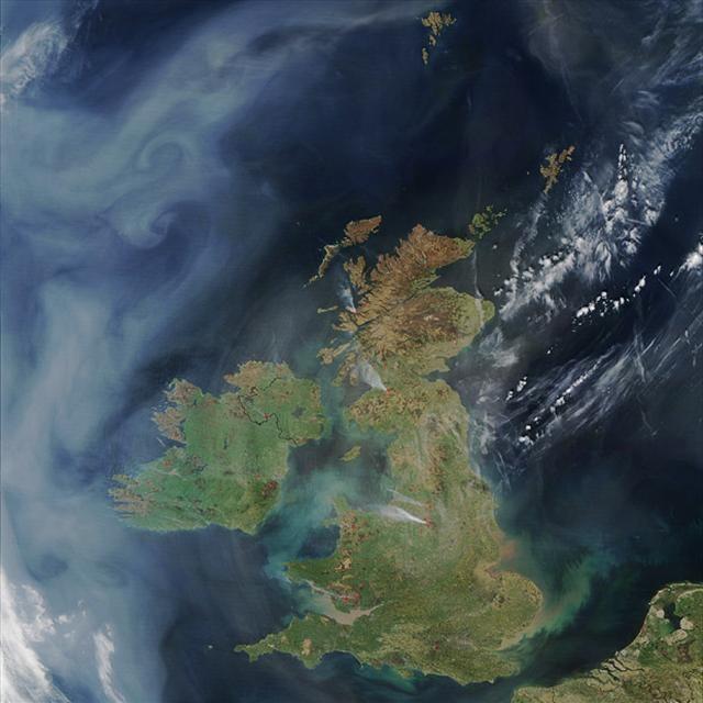 Kasırga, sel, yangın... Uzaydan nasıl görünür?