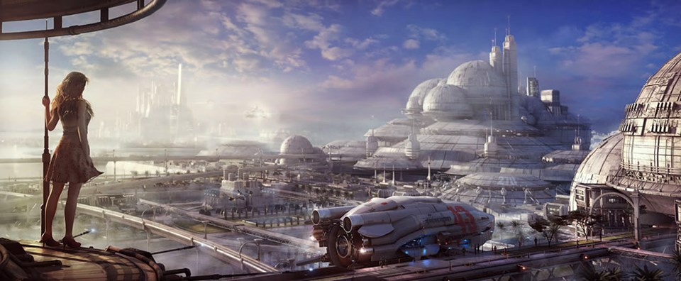 Geleceğin 3D şehirleri