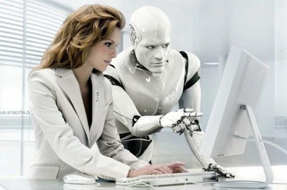 Gelecekte robotlar ve insanlar