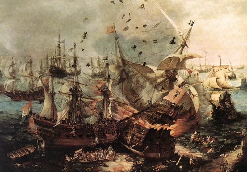 18. yüzyıldaki bir deniz savaşında en çok denizciyi ne öldürmüştür?