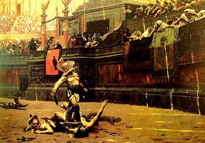 Roma İmparatorları bir gladyatörün ölüm emrini nasıl verirlerdi?