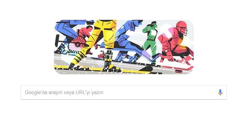 Google, Paralimpik Olimpiyatlarını Doodle yaptı.