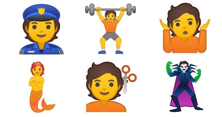 emoji, google, android q