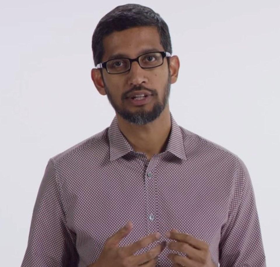 Google'In CEO'suSundar Pichai