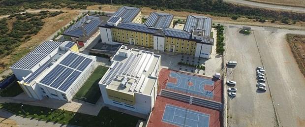 denizli okul güneş enerjisi