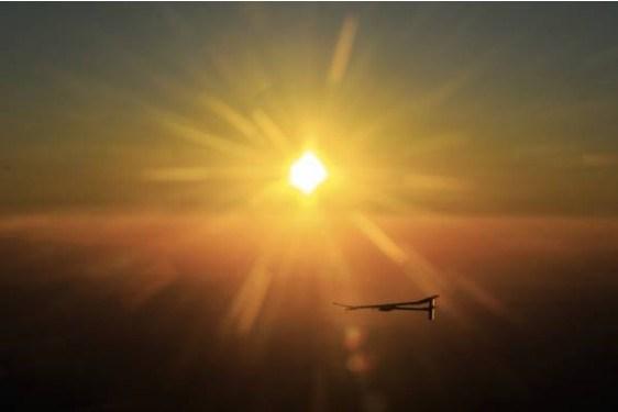 Güneşle uçacak