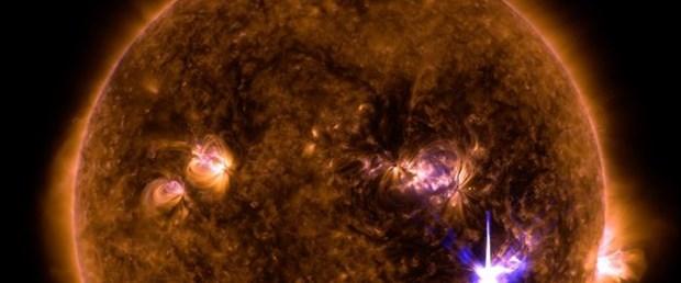 Güneş'te son 10 yılın en büyük patlaması