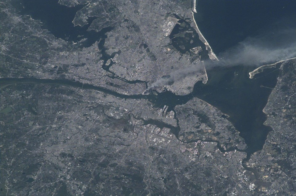 NASA 11 EYLÜL'ÜN UZAYDAN ÇEKİLMİŞ KARELERİNİ PAYLAŞTI