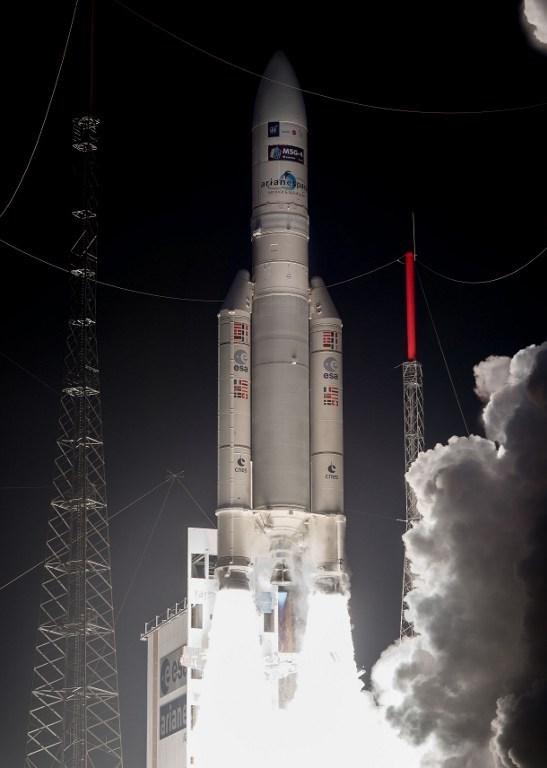 Uydu, 15 Temmuz'da Fransız Ginesi'nde gerçekleştirilen ateşlemeye uzaya fırlatılmıştı.