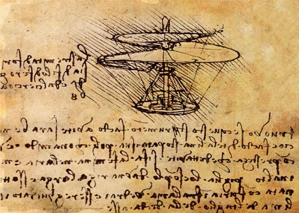 Helikopterin 2500 yıllık tarihi