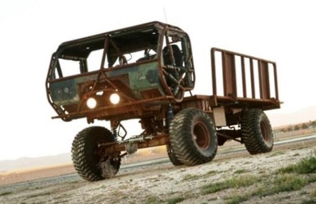 Custom-Built Heist Truck