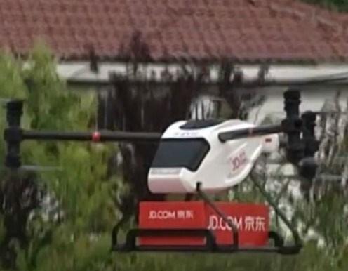 Jindong, bu sene robot kurye filosunu 100'e çıkarmayı hedefliyor.