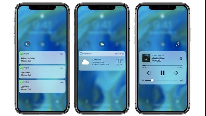 iOS 12 KONSEPTİ GÜN IŞIĞINA ÇIKTI