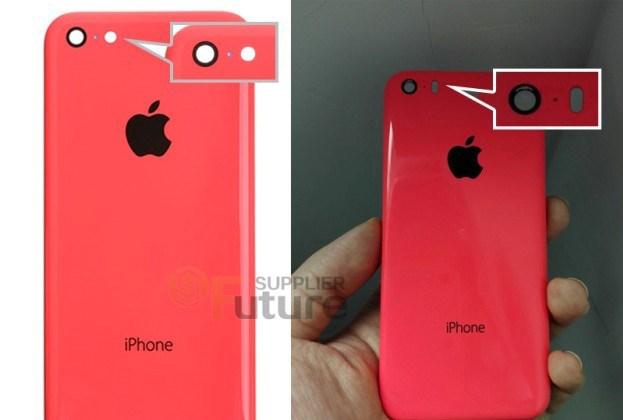 iPhone 6c'nin (sağda)Sight kamera sahip olacağı da iddialar arasında.