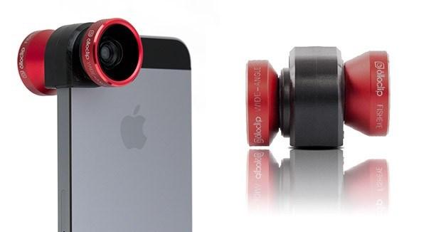 iPhone modellerine özel kamera aksesuarı