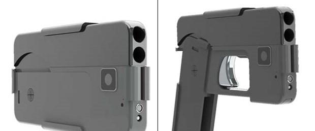 iPhone silah oldu