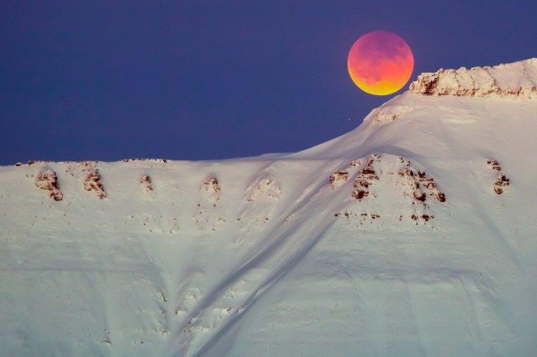 Kanlı Ay Tutulması, dolunay