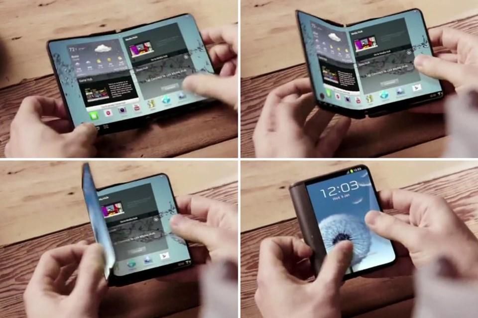Birçok alanda akıllı telefon dünyasında ilkleri gerçekleştiren Samsung bu kez katlanır ekranlarla en büyük ilke adım atmış olacak.