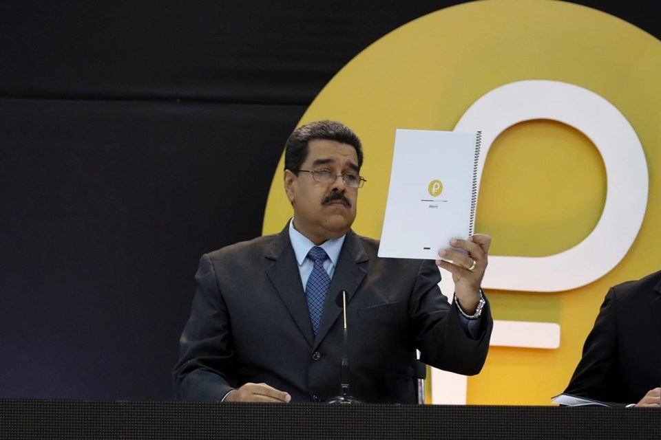 Maduro'dan kripto para açıklaması