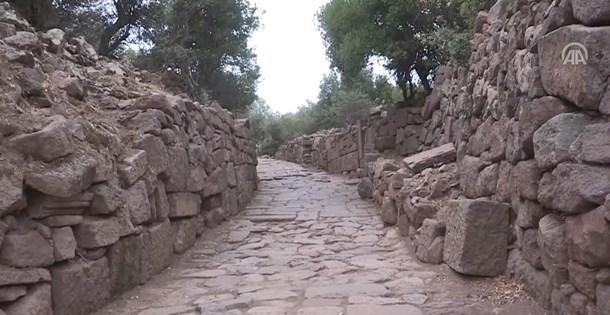 Antik Yollar : Manisada 2 bin yıllık antik yol bulundu ntv