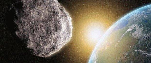 NASA, Bennu'yu nükleer silah ile vuracak ile ilgili görsel sonucu