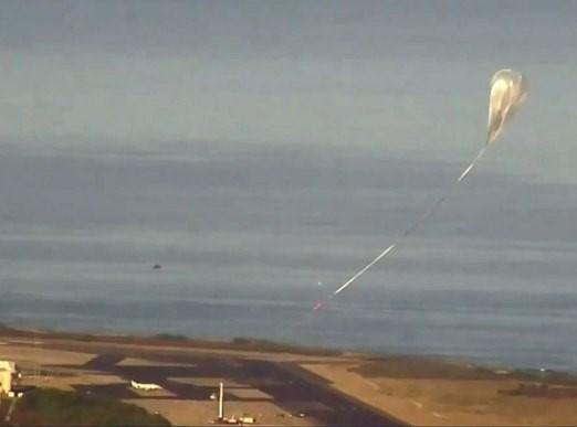 Uzay aracı geçen yıl yapılan ilk testtede parçalara ayrılmıştı.