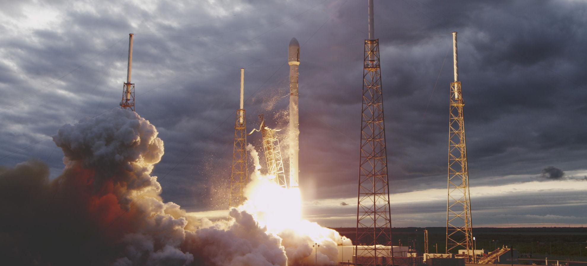 NASA'nın tarihi rampasından fırlatıldı