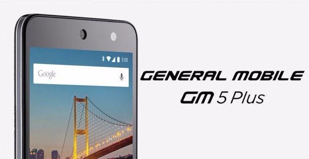 GeneralMobileGM 5 Plus