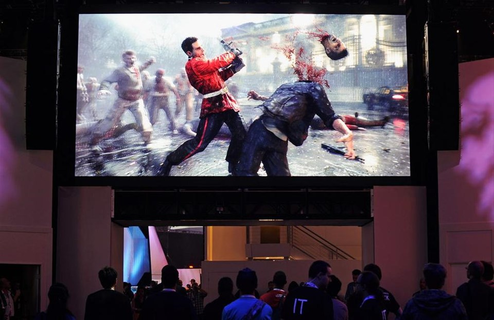 do violent video games contribute to